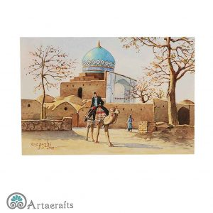 this is a picture of watercolor of kashan