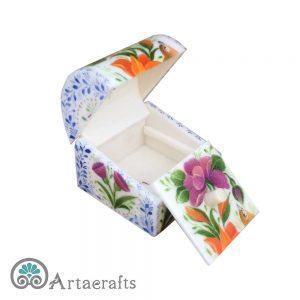 جعبه جواهرات نقلی گل و مرغ