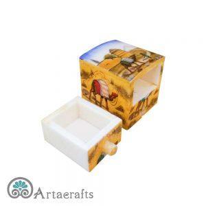 جعبه جواهرات کوچک کشویی