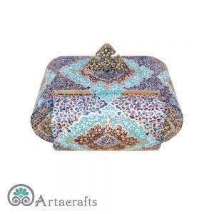 جعبه جواهرات طرح میز چینی