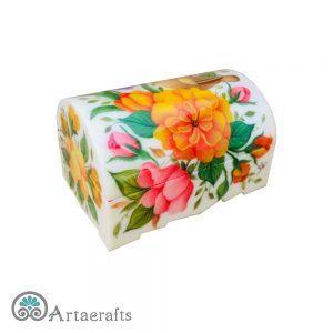جعبه جواهر 7سانتیمتری گل و مرغ