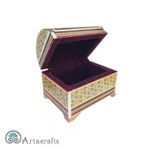 جعبه خاتم صندوقی متوسط